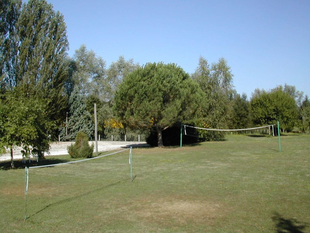 volley et badmington